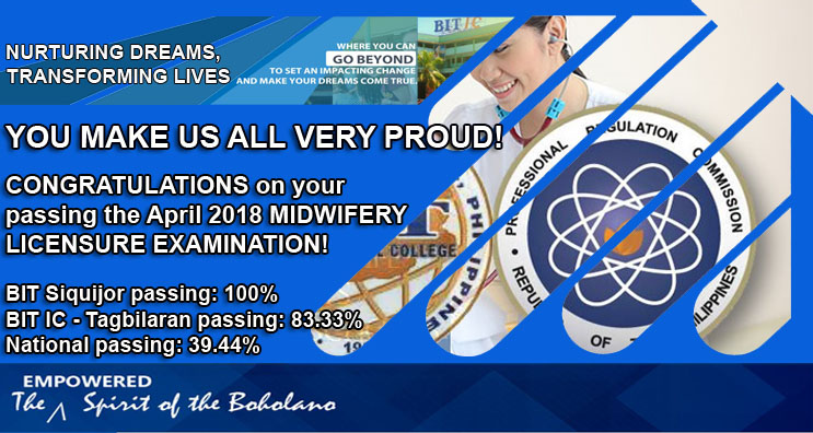 April 2018 MIDWIFERY LICENSURE EXAMINATION