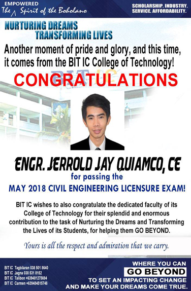 BITIC new Civil Engineer